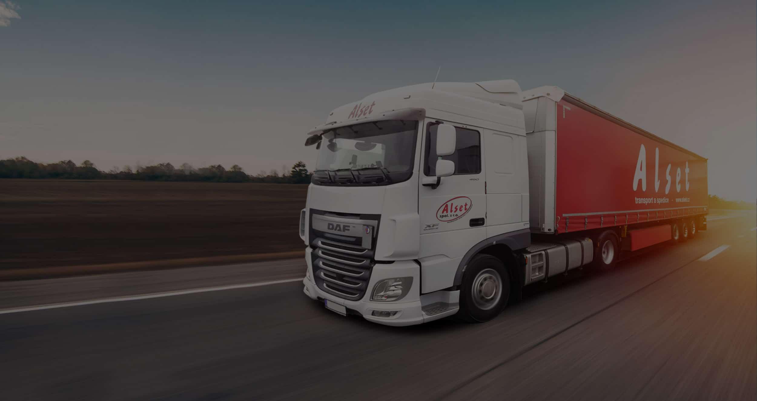 Alset kamion